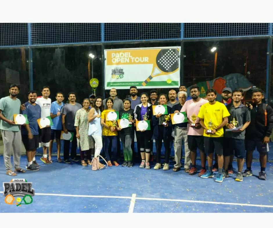 Two years of Padel endorsed by Indian players!