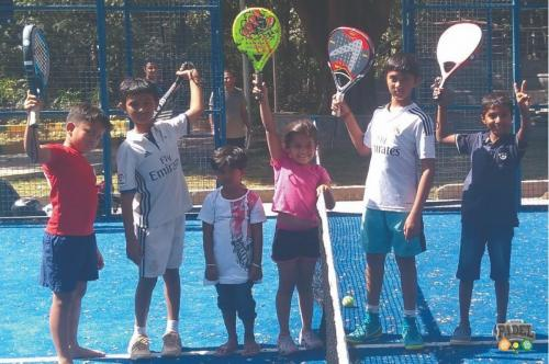 Kids Padel Coaching